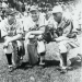 Cecil Travis, Dizzy Dean and Satchel Paige  during barnstorming tour thumbnail