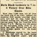 Opening Game with Chattanooga Black Lookouts - 1928 thumbnail
